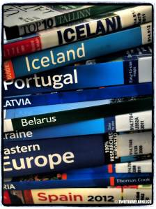 Library Travel Guidebooks