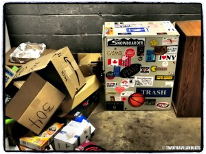Boxes of Trash