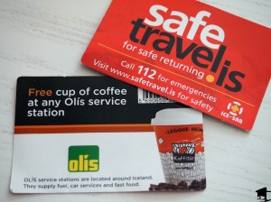 Safe Travel Coffee Card
