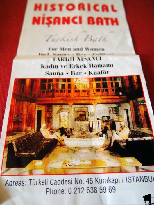Turkish Hamam Brochure