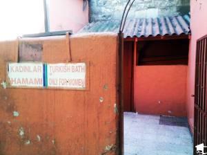 Women's hamam entrance