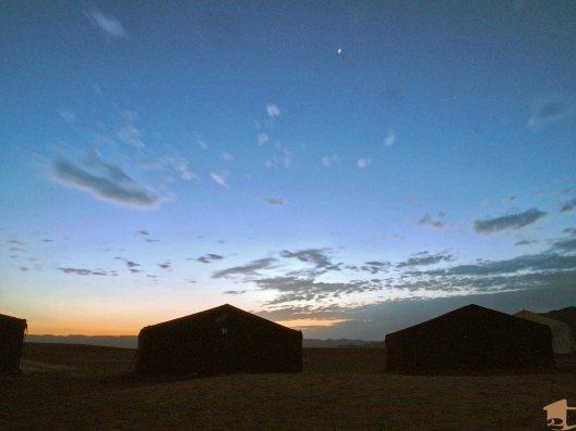 Sahara Desert camp in Morocco