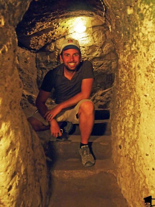 Derinkuyu, an underground city in Turkey
