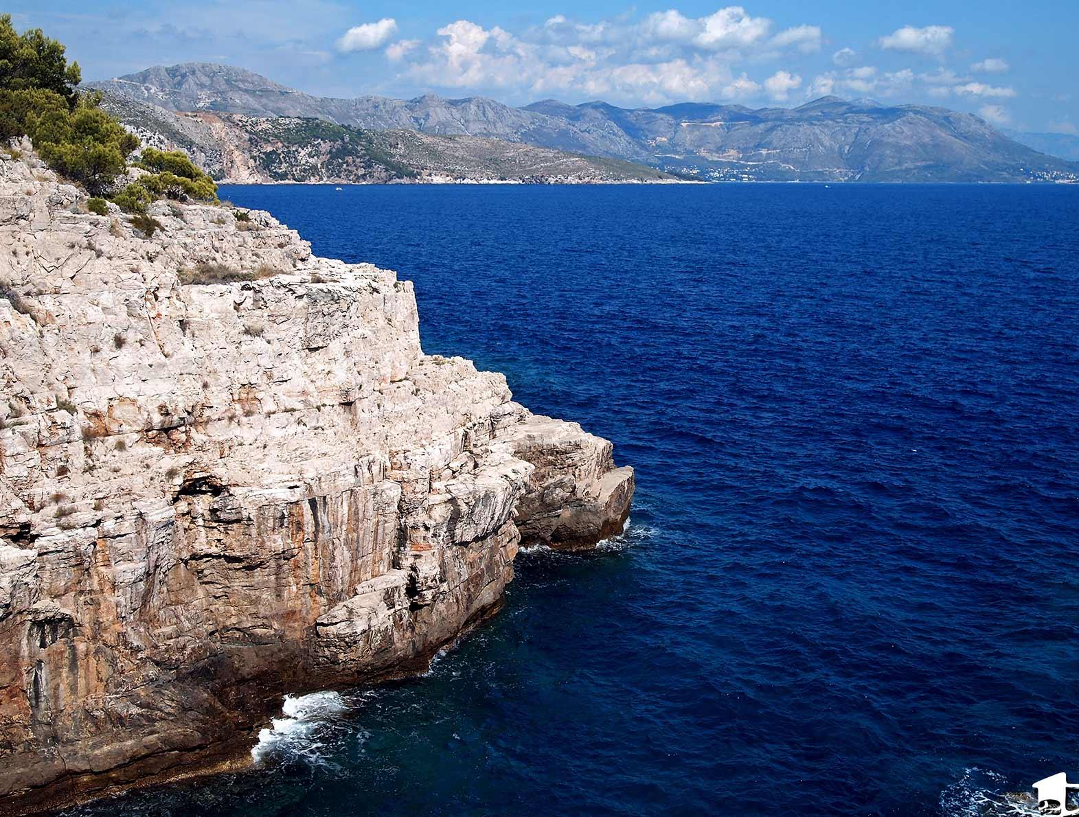 Adriatic Sea off Lokrum Island, Croatia