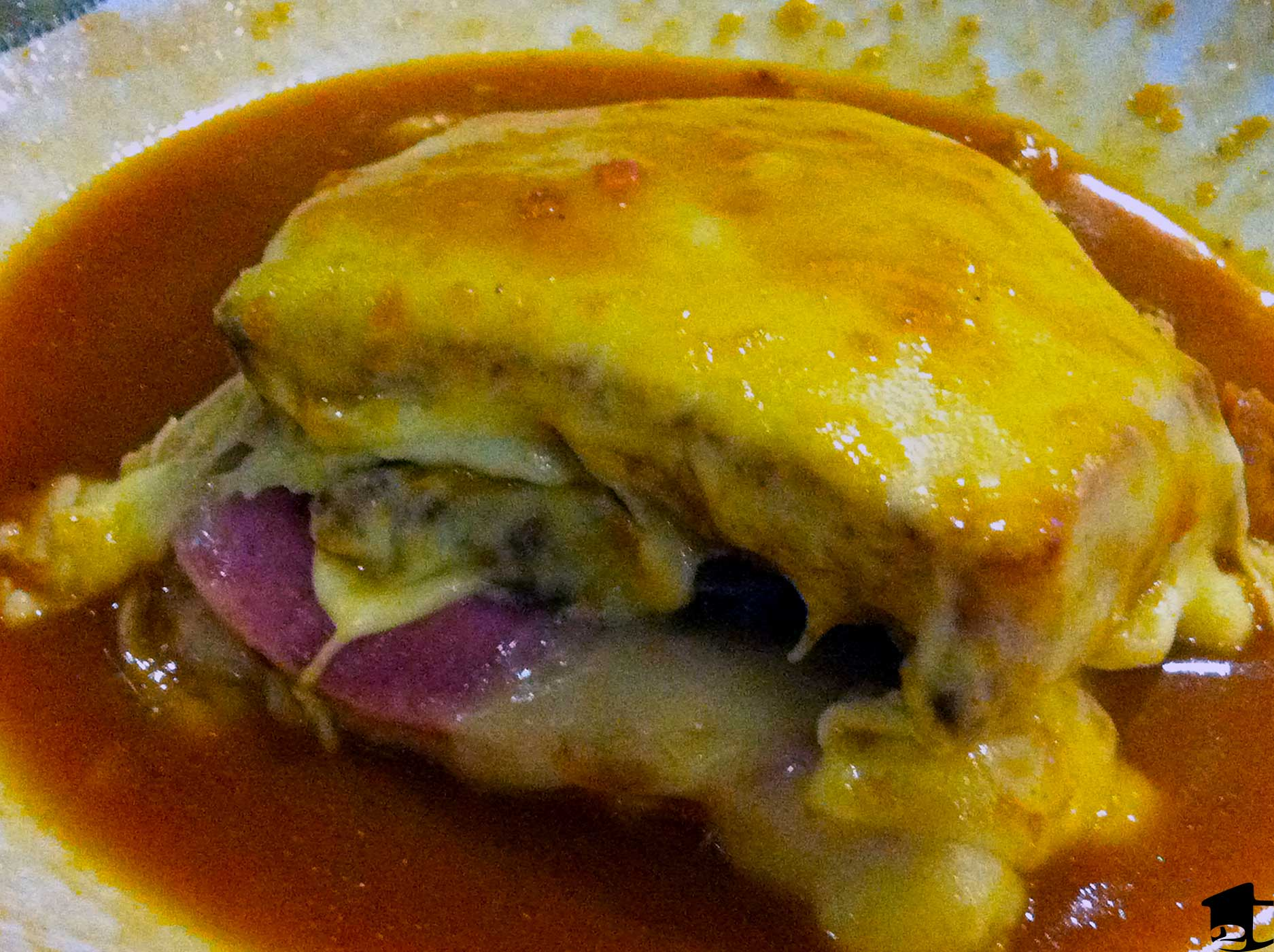 A Francesinha in Porto, Portugal