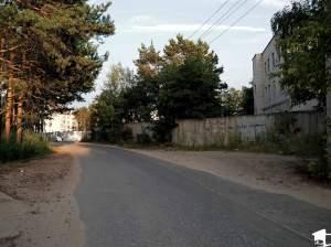 Narrow Secondary Road Outside Vladimir