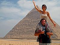 Tara & Mike in Giza