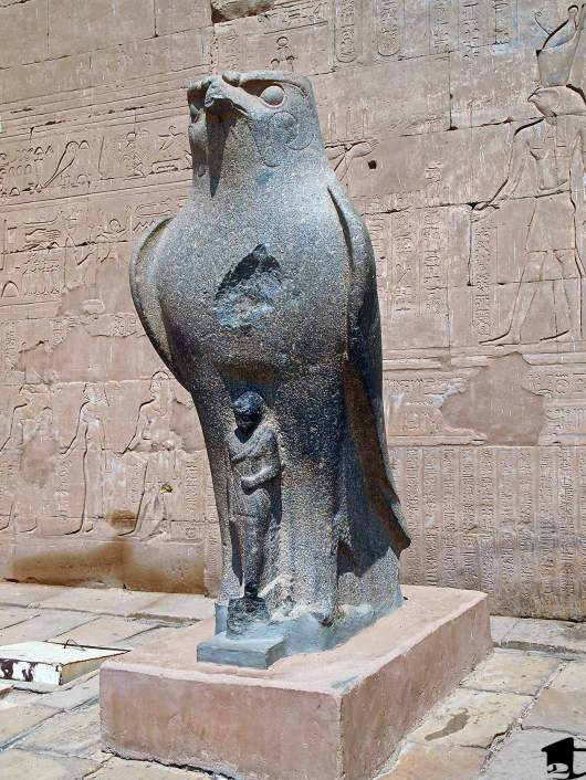 God Horus at Edfu