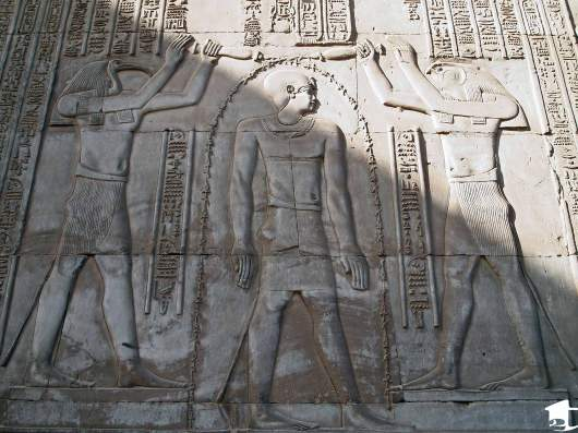 Carving at Kom Ombo