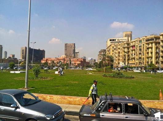 View of Tahrir Square