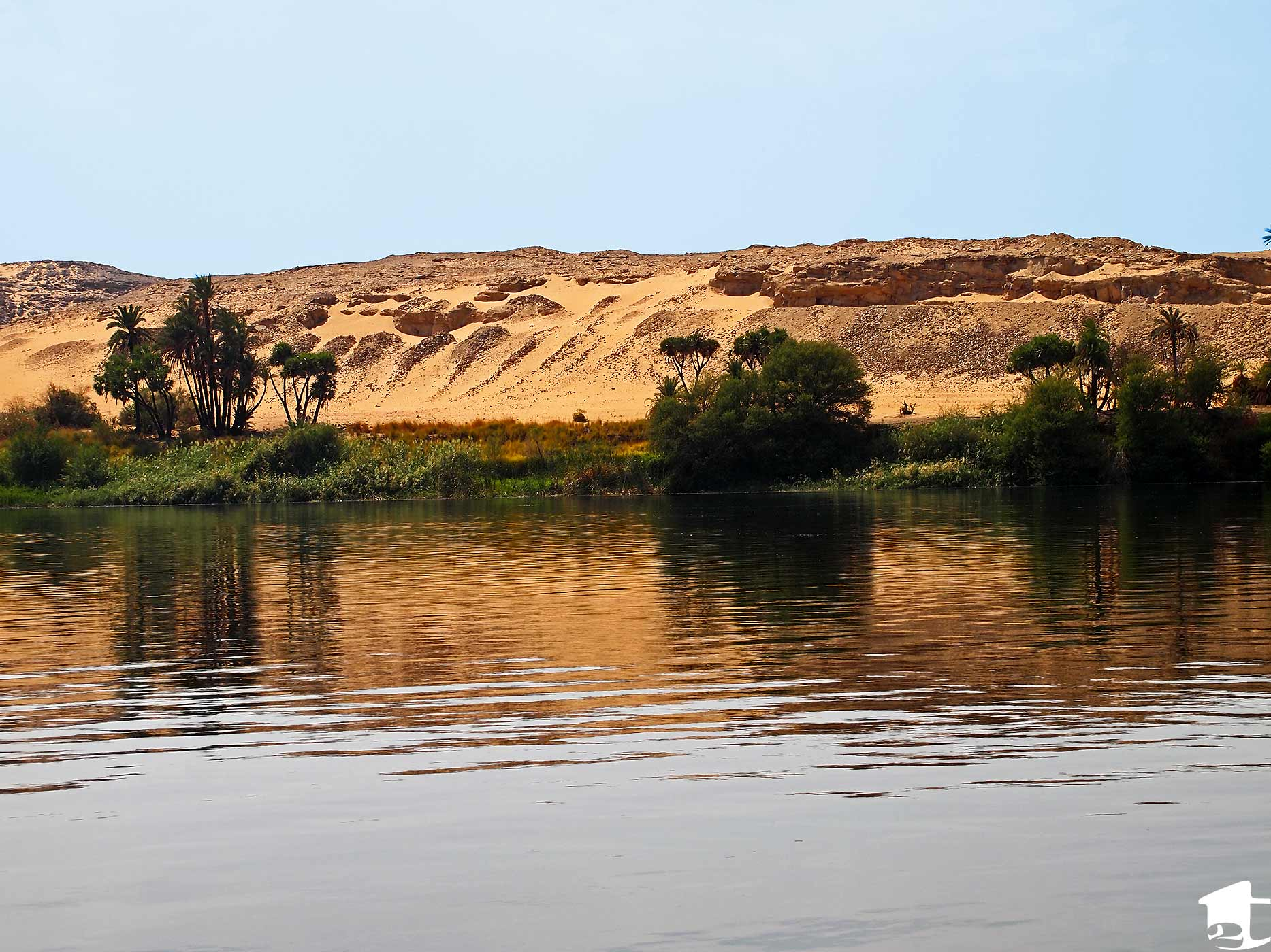 Beautiful view from the Nile