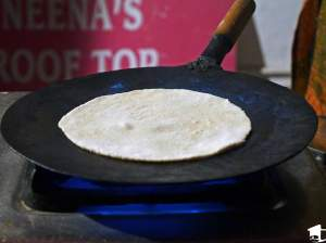 Chapati Cooking