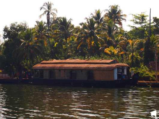 A Kerala Houseboat