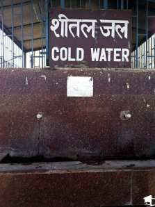 Cold Water in India
