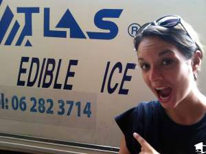 Edible Ice Truck