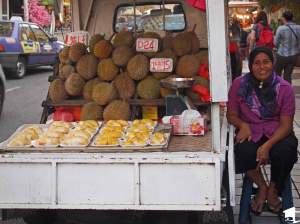 Durian Seller in KL
