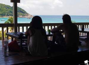 Looking out at Perhentian Kecil