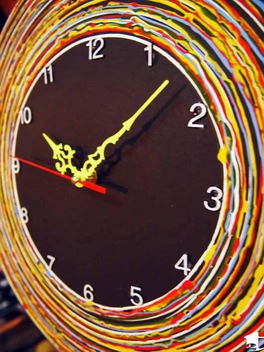 A clock, not food