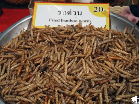 Fried Bamboo Worms