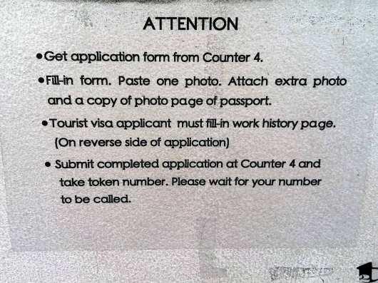 Myanmar Visa Process
