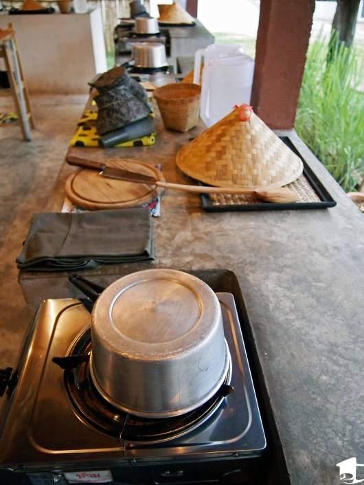 Cooking school workstation