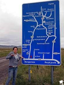 Confusing Iceland Road Sign
