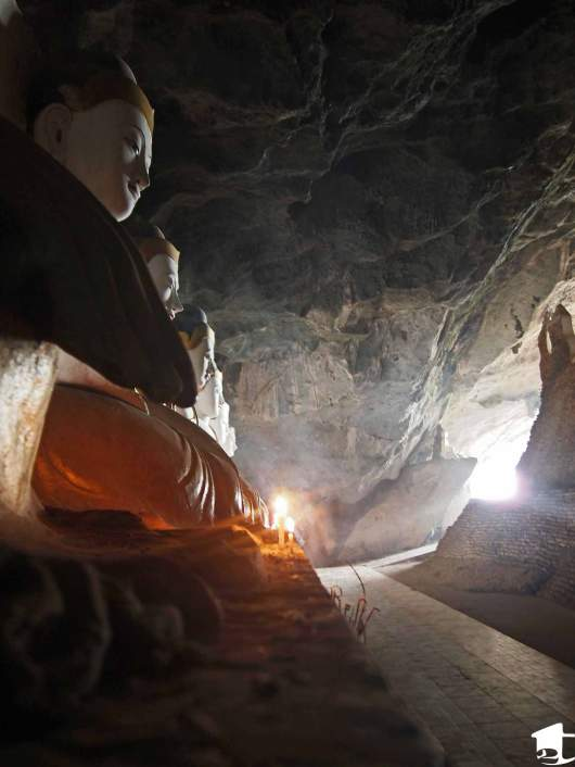 Inside Yathei Pyan Cave