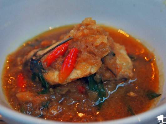 Tamarind Fish Curry at Bibo's in Nyaung U