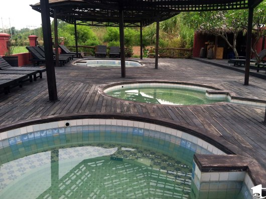 Hot Springs Pools at Inle Lake