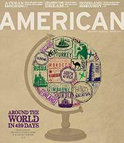 AU Magazine Cover