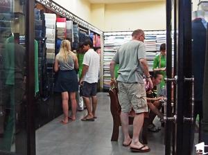 Inside a Tailor Shop